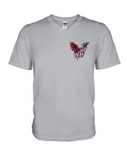 BC - Fight Like An Eagle V-Neck T-Shirt thumbnail