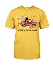 Black Cat Take Me Home Classic T-Shirt front