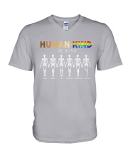 LGBT - Human Kind Be Both V-Neck T-Shirt thumbnail