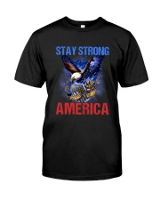 Police - Stay Strong America Classic T-Shirt thumbnail
