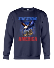 Police - Stay Strong America Crewneck Sweatshirt thumbnail