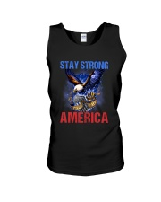 Police - Stay Strong America Unisex Tank thumbnail