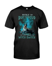 Mermaid Skull - Buckle Up Buttercup Classic T-Shirt front