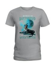 Mermaid Skull - Buckle Up Buttercup Ladies T-Shirt thumbnail