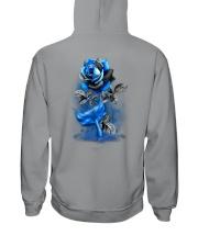 Mermaid Rose 2 Sides Hooded Sweatshirt tile