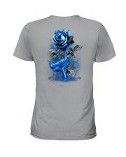 Mermaid Rose 2 Sides Ladies T-Shirt tile