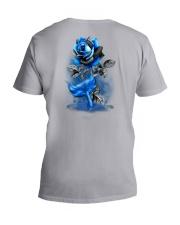 Mermaid Rose 2 Sides V-Neck T-Shirt tile