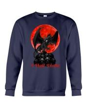 Dragon I Hate People Crewneck Sweatshirt thumbnail