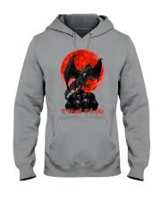 Dragon I Hate People Hooded Sweatshirt thumbnail