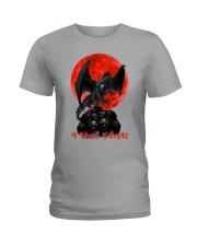 Dragon I Hate People Ladies T-Shirt thumbnail