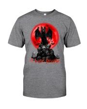 German Shepherd - I Hate People Classic T-Shirt tile