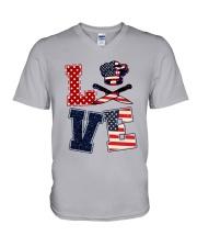 Chef - American Love V-Neck T-Shirt tile