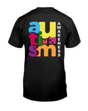 Autism - Embrace Differences 2 Sides Classic T-Shirt back