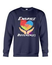 Autism - Embrace Differences 2 Sides Crewneck Sweatshirt tile