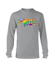 LGBT - Turtle Love Beach Long Sleeve Tee thumbnail