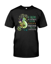 Turtle - I Ride Seahorses Classic T-Shirt front