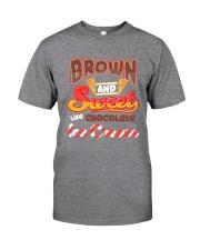 Black Chocolate Ice Cream Classic T-Shirt tile
