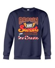 Black Chocolate Ice Cream Crewneck Sweatshirt tile