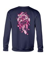 BC - Breast Cancer Mandala 2 Sides Crewneck Sweatshirt tile
