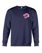BC - Breast Cancer Mandala 2 Sides Crewneck Sweatshirt thumbnail