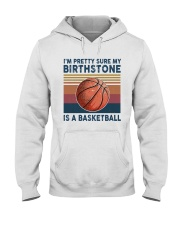 Basketball My Birth Stone Hooded Sweatshirt thumbnail