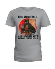 Cats And Knitting Ladies T-Shirt thumbnail