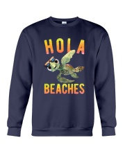 Turtle - Hola Beaches Crewneck Sweatshirt thumbnail