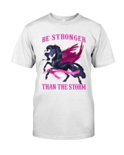Bc - Be Strong Than The Storm Classic T-Shirt front