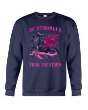 Bc - Be Strong Than The Storm Crewneck Sweatshirt tile