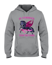 Bc - Be Strong Than The Storm Hooded Sweatshirt tile