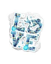 Mermaid Love Sticker Sticker - 10 pack (Vertical) front