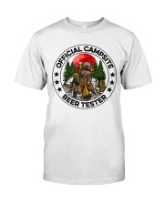 Camping Beer - Beer Tester Classic T-Shirt front