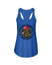 Camping Beer - Beer Tester Ladies Flowy Tank thumbnail