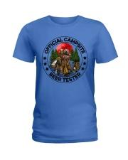 Camping Beer - Beer Tester Ladies T-Shirt thumbnail