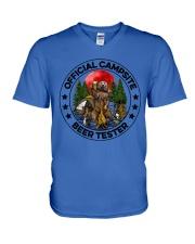 Camping Beer - Beer Tester V-Neck T-Shirt thumbnail