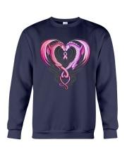Dragon Breast Cancer Crewneck Sweatshirt thumbnail
