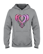 Dragon Breast Cancer Hooded Sweatshirt thumbnail