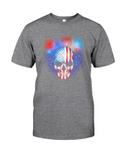 Skull Independence Day Classic T-Shirt tile