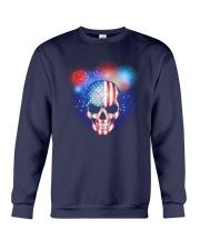 Skull Independence Day Crewneck Sweatshirt thumbnail