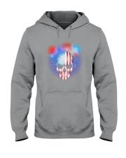 Skull Independence Day Hooded Sweatshirt thumbnail