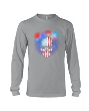 Skull Independence Day Long Sleeve Tee thumbnail
