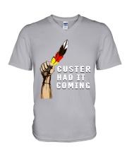 Native - Custer Had It Coming V-Neck T-Shirt thumbnail