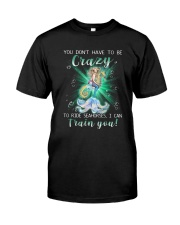Mermaid - Train Seahorses Classic T-Shirt front