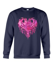Breast Cancer Dragon Heart Crewneck Sweatshirt thumbnail