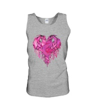Breast Cancer Dragon Heart Unisex Tank thumbnail