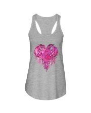 Breast Cancer Dragon Heart Ladies Flowy Tank thumbnail