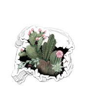 STICKER Cactus Crack Sticker - 10 pack (Vertical) front
