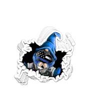 Sticker- Police- Gnome Crack Sticker - 10 pack (Vertical) front
