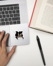Bat Crack Sticker - Single (Vertical) aos-sticker-single-vertical-lifestyle-front-12