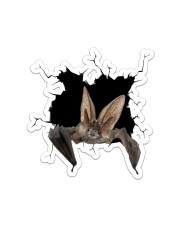 Bat Crack Sticker - Single (Vertical) front
